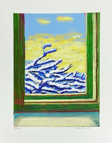 My Window, Art Edition 610 by David Hockney at