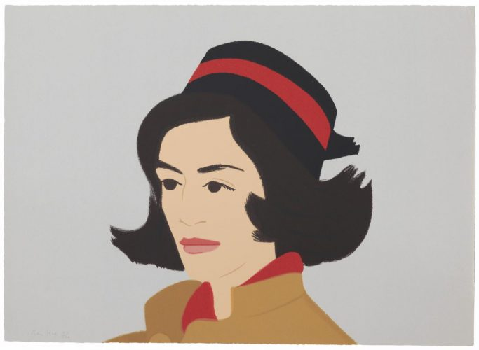 Ada In Hat from Alex And Ada, The 1960's To The 1980's by Alex Katz