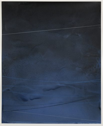 Power Line Drawing #27 by Alex Weinstein at Leslie Sacks Gallery (IFPDA)
