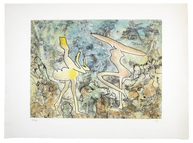 Viens Voir by Roberto Matta at
