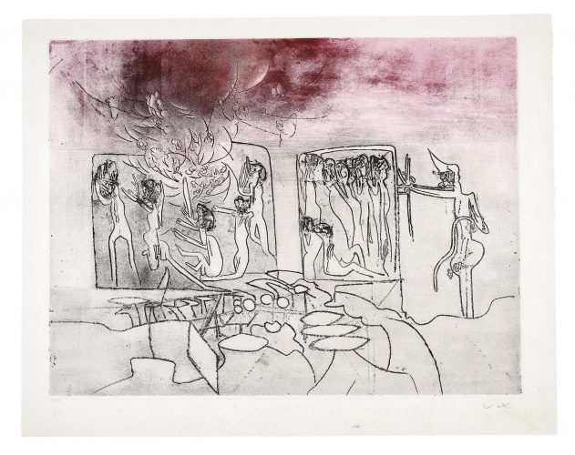 Judgements: Genocide by Roberto Matta
