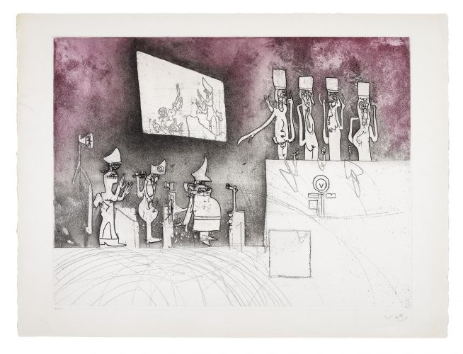 Judgements: Nuremberg Judgement by Roberto Matta at Roberto Matta