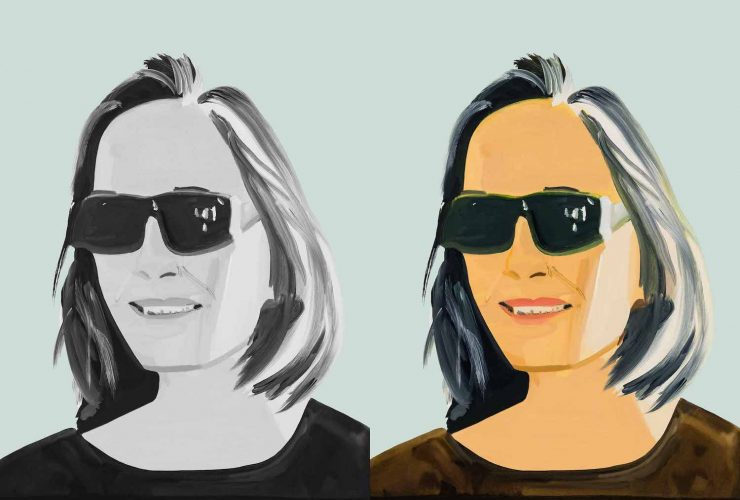 Ada x2 by Alex Katz