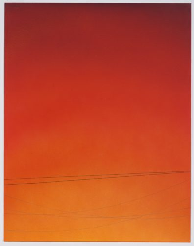 Power Line Drawing #25 (small) by Alex Weinstein at