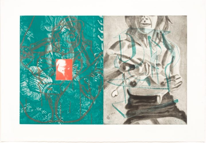 Canfield Hatfield, Plate 7 by David Salle