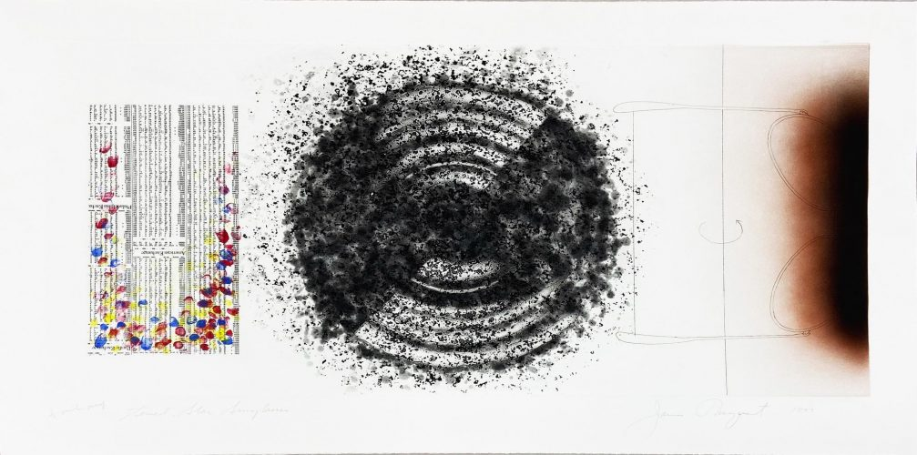 Towel, Star, Sunglasses; Other Great Cities by James Rosenquist