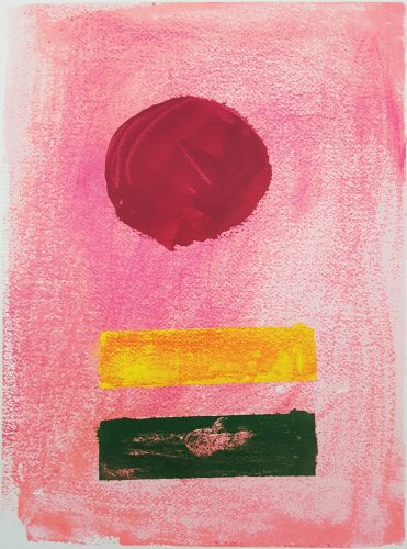 Pink Ground by Adolph Gottlieb at Graves International Art