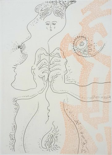 Le Fil d'Ariane by Andre Masson at