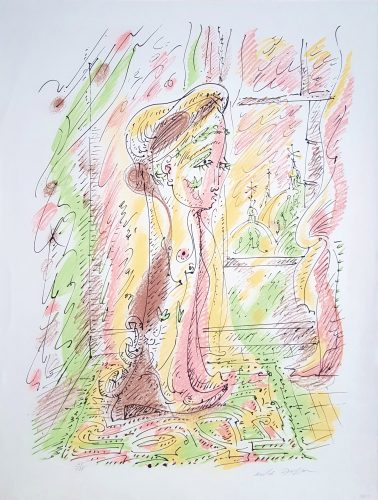 Intérieur Vénitien (Venetian Interior) by Andre Masson at Graves International Art