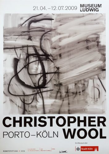 Christopher Wool: Porto – Köln (Signed) by Christopher Wool at