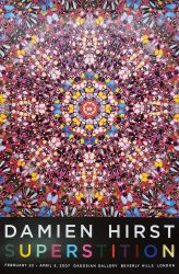 Superstition (Signed) by Damien Hirst at Graves International Art
