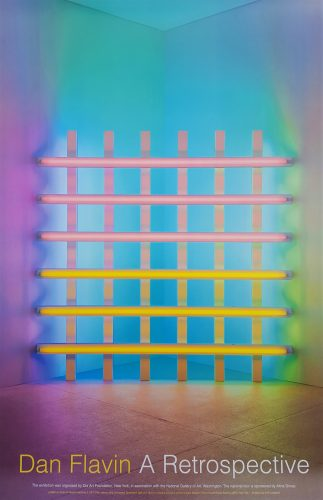 Dan Flavin: A Retrospective by Dan Flavin at