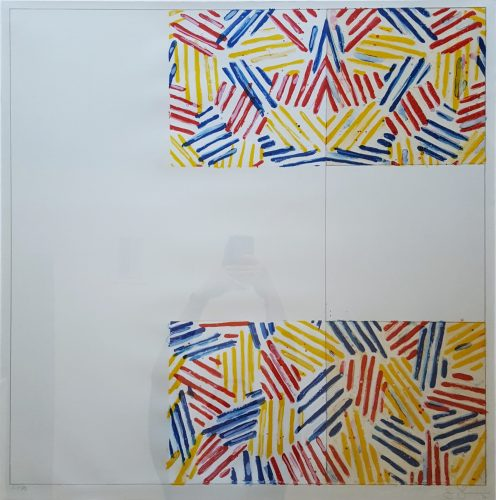 #2 (after 'Untitled 1975') by Jasper Johns