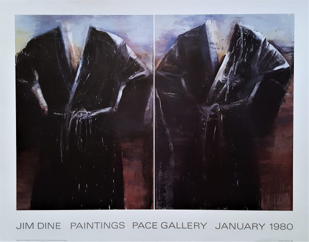 Jim Dine Paintings: Pace Gallery by Jim Dine