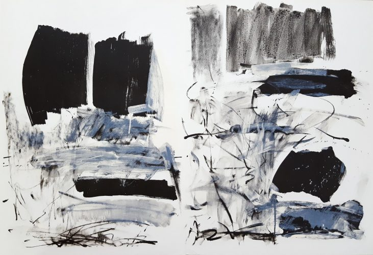 Untitled (Fresh Air School) by Joan Mitchell