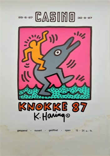 Casino Knokke by Keith Haring