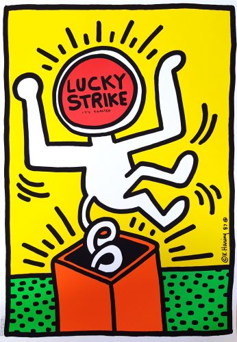 Lucky Strike II by Keith Haring