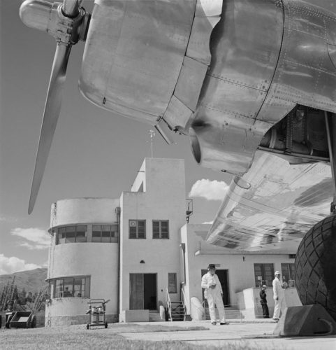 Bolivian Airport Limited Edition Oversize Silver Gelatin Print by Unknown
