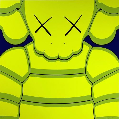 What Party – Yellow by KAWS at
