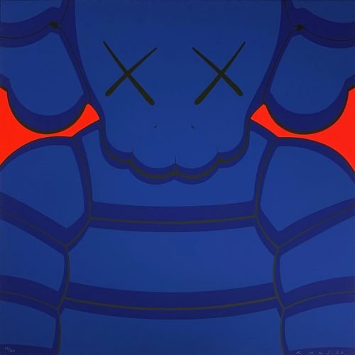 What Party – Blue by KAWS at