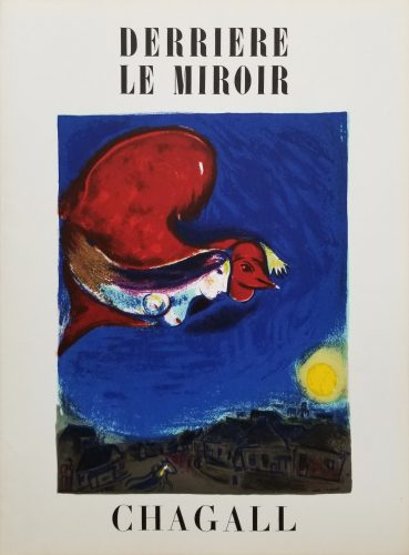 The Village by Night (front cover) by Marc Chagall at Marc Chagall