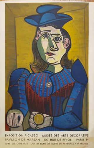 Dora Maar (Femme Assise) by Pablo Picasso (after) at Graves International Art