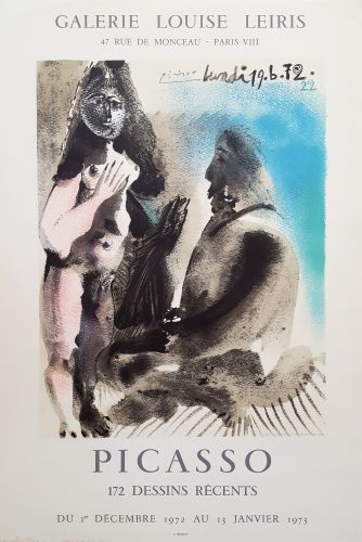 Galerie Louis Leiris: The Painter & His Model by Pablo Picasso (after) at Graves International Art