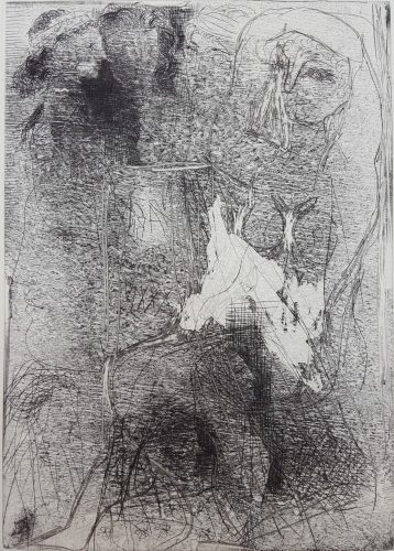 Têtes et Figures Emmêlées (Tangled Heads and Figures) by Pablo Picasso