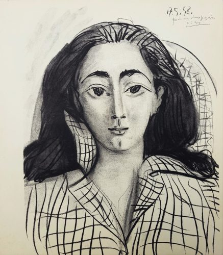 Jacqueline by Pablo Picasso (after)