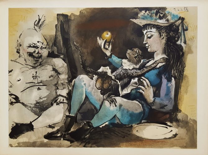 Untitled (Revue Verve) by Pablo Picasso (after)