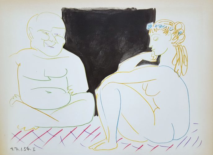 Untitled (Revue Verve) by Pablo Picasso (after) at Graves International Art