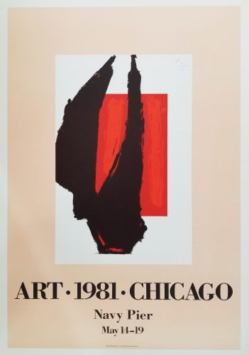Art 1981 Chicago by Robert Motherwell