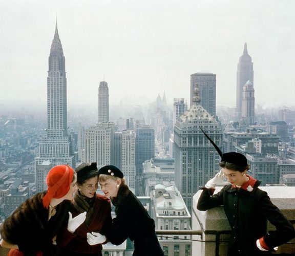 Fashion models in New York, for Vogue Limited Estate Stamped Edition by Norman Parkinson at