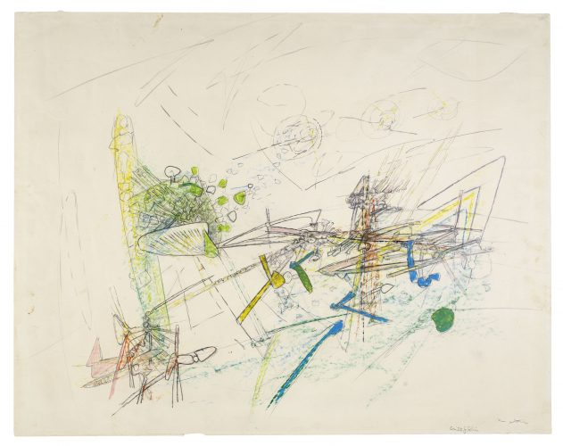 Cruxificion by Roberto Matta at