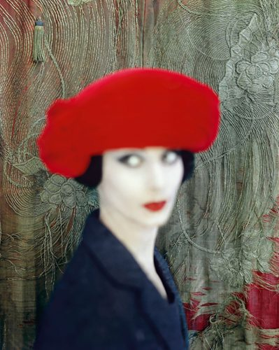 Portrait of model Adele Collins for Vogue Limited Estate Stamped Edition by Norman Parkinson at
