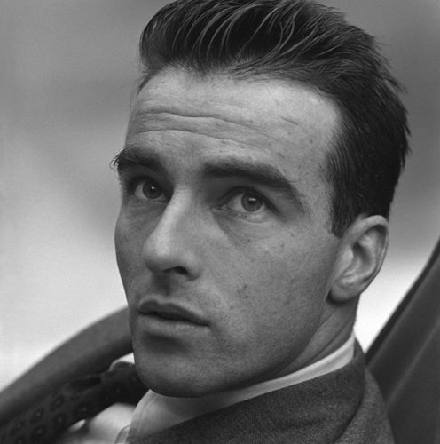 Portrait of Montgomery Clift for Vogue Limited Estate Stamped Edition by Norman Parkinson at