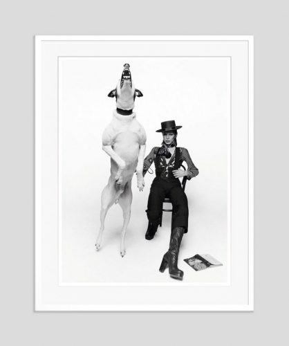 David Bowie – Diamond Dogs Hand Signed Limited Edition by Terry O'Neill at
