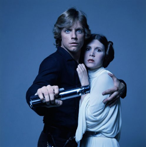 Luke and Leia Limited Edition Signed by Terry O'Neill at Terry O'Neill