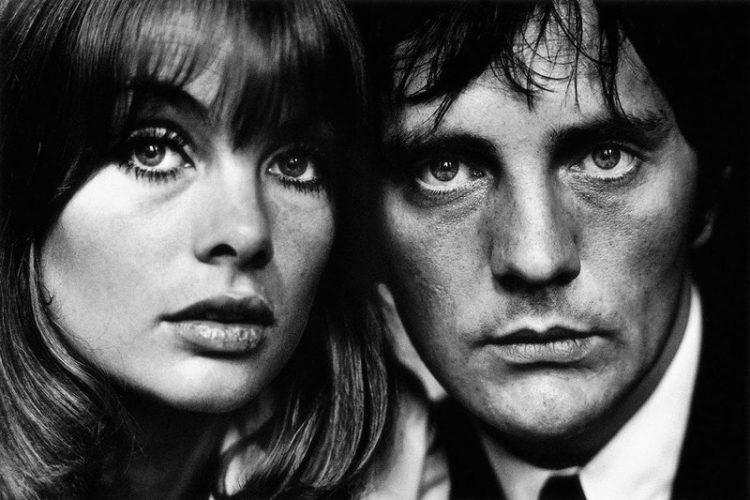 Jean Shrimpton and Terence Stamp Limited Edition Signed by Terry O'Neill at Terry O'Neill
