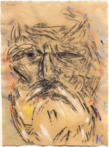 Self Portrait (After Freud's Second Painting of Me) by R.B. Kitaj at