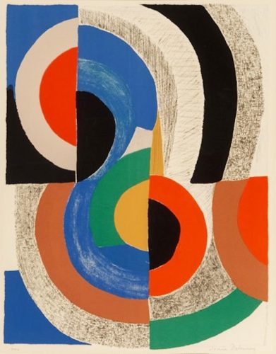 Hippocampe by Sonia Delaunay at