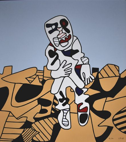 The Walk in the Countryside | Marche en Campagne, 1975 by Jean Dubuffet at