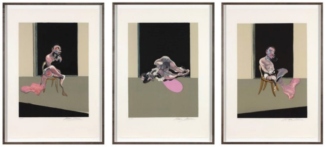 Triptych August 1972 by Francis Bacon at