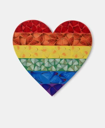 Butterfly Heart [H7-3] by Damien Hirst at
