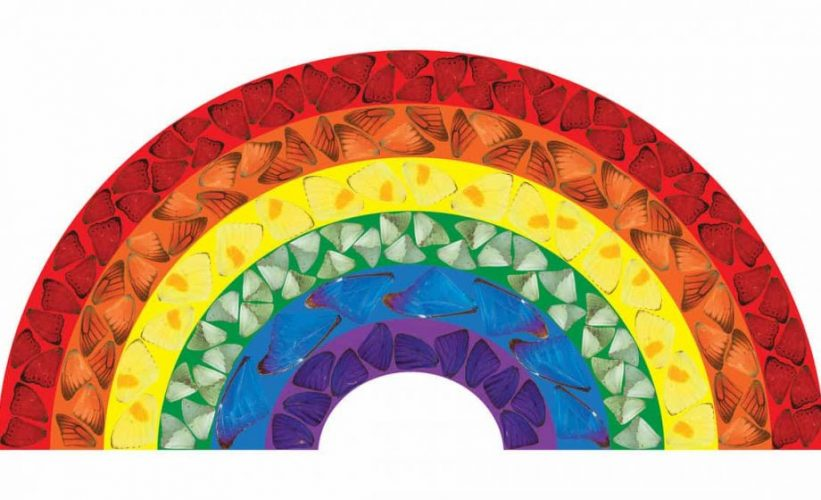 Butterfly Rainbow [H7-2] by Damien Hirst at