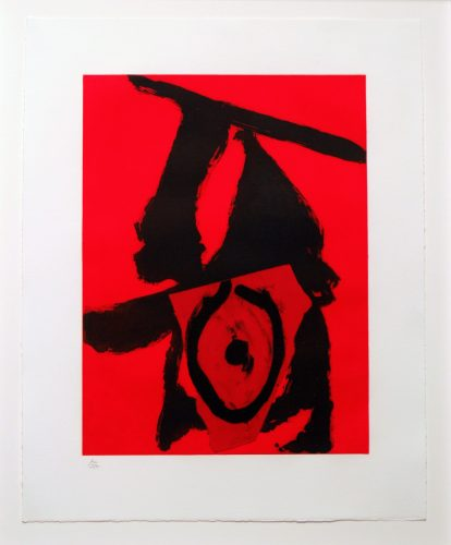 Red Queen by Robert Motherwell at
