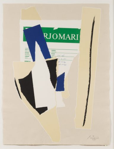 America – La France Variations IX by Robert Motherwell at