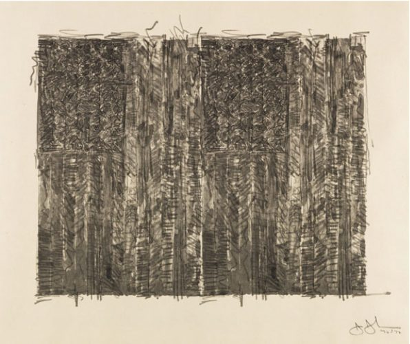 Two Flags by Jasper Johns