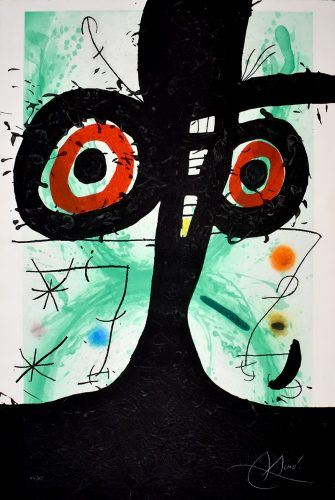 The Old Irishman | Le vieil irlandais, 1969 by Joan Miro at
