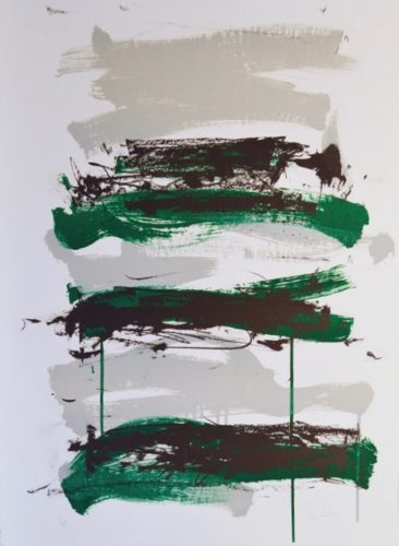 Champs (Black, Grey and Green) by Joan Mitchell at Joan Mitchell